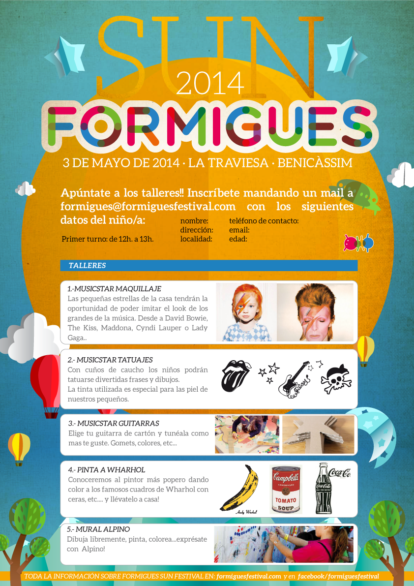 Talleres Formigues Festival