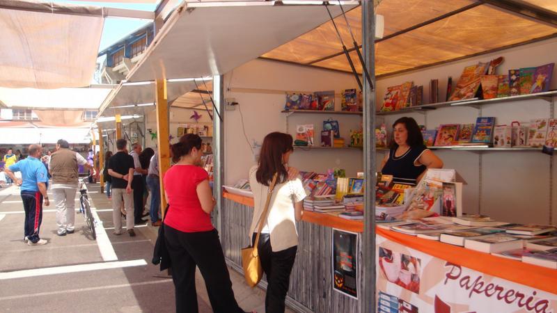 feria del libro Vila-real actividades con niños en Castellon