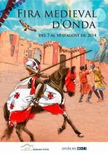 cartel feria medieval onda