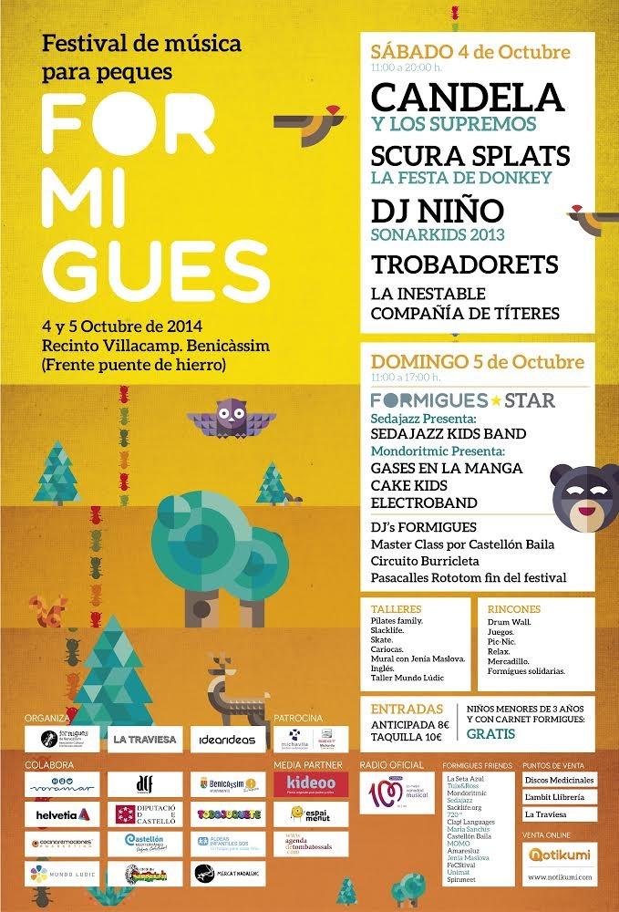 Cartel Formigues 2014