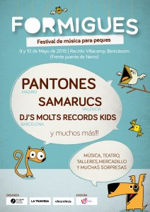 cartell formigues festival