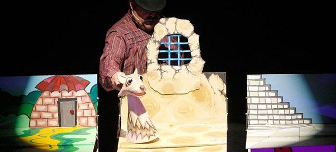 los cinco lobitos teatro arbole
