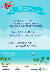 cartel playa pinar trece
