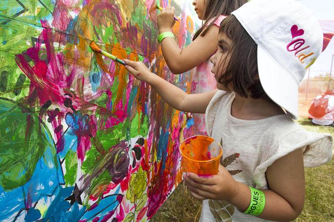 formigues festival benicassim mural