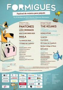 formigues festival cartel 2015