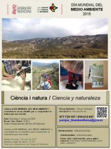 Cartel Ciència i natura_DMMA15