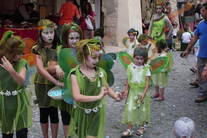 forcall feria ibero romana actuación peques