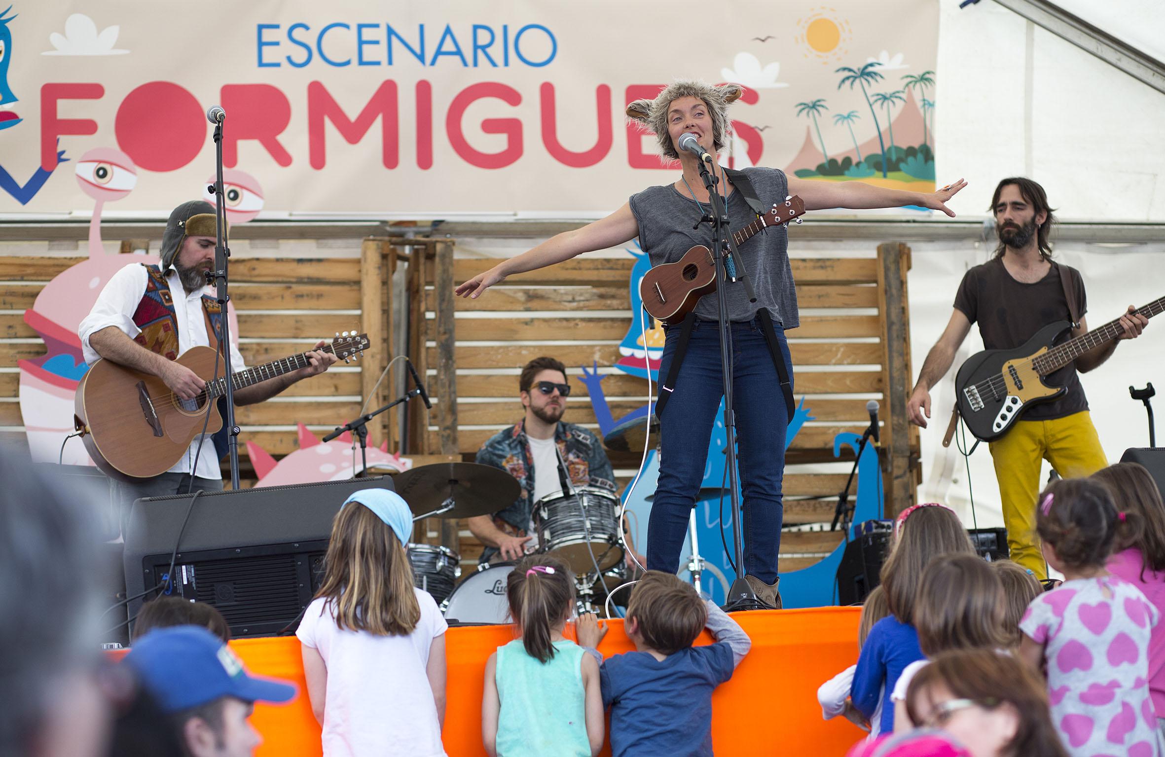 Lali Rondalla en Formigues Festival. Foto: Carme Ripollès & Ángel Sánchez.