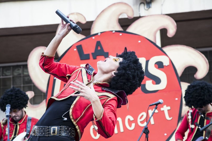 La Glüps Band pondrá la nota rock al Carnaval.