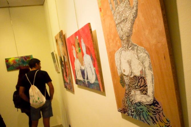 El arte, trasnocha en la Nit de l'Art. Foto: ACF.