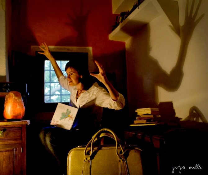 Almudena Francés representará La Casa de Carmeta. Foto: Jorja