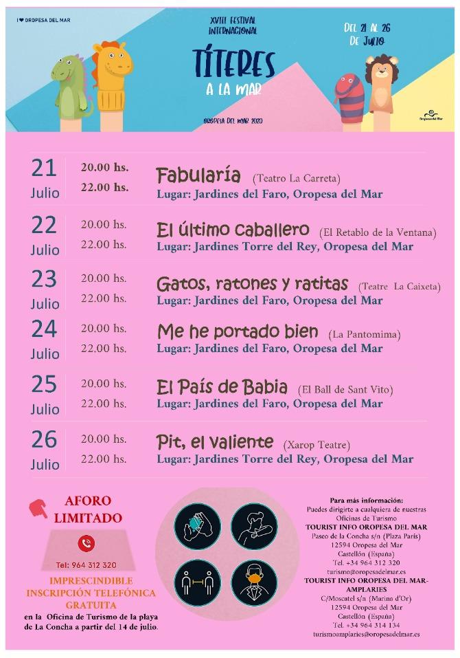 PROGRAMACIÓN FESTIVAL TITERES (2)
