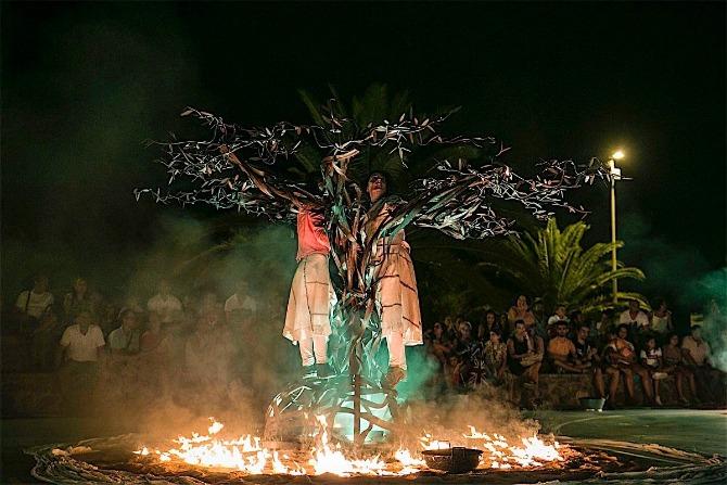 Visitants Teatre interpretaran 'Olea' el 4 de setembre a les 23.00 en el frontó municipal.
